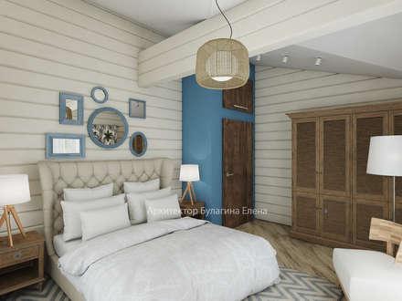 Спальня: Спальни в . Автор - Архитектурное Бюро Капитель