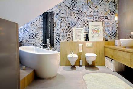scandinavian Bathroom by MOTHI.form