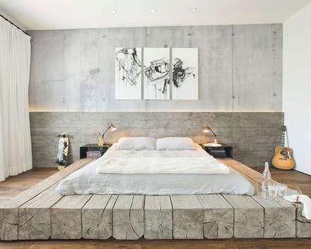 Evinin Ustası – Yatak Odalarında En Çok Hangi Renk Tercih Edilmelidir?: endüstriyel tarz tarz Yatak Odası
