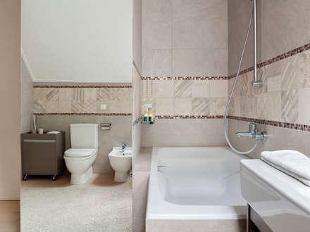 Bathroom: modern Bathroom by Telnova Julia