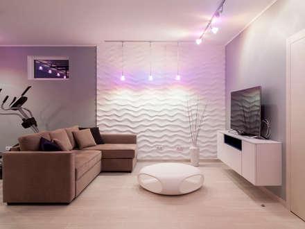 Gym and living room: modern Gym by Telnova Julia