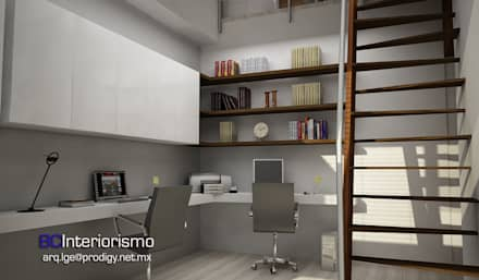 Modern home: modern Study/office by BCInteriorismo