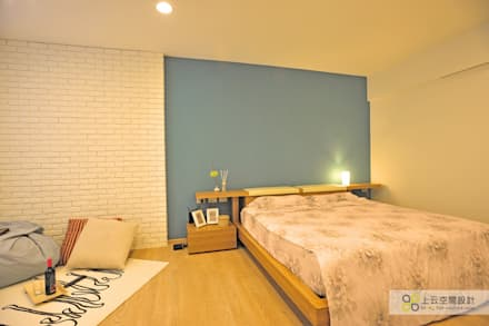 scandinavian Bedroom by 上云空間設計