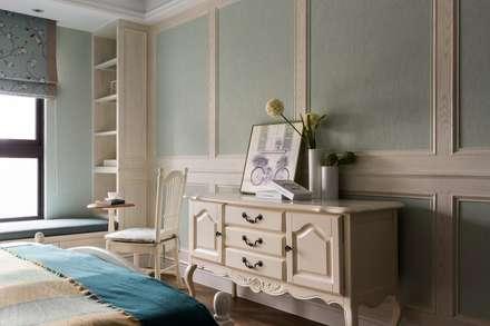 辰林設計實業有限公司が手掛けた寝室