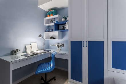 classic Study/office by 祥祥設計有限公司