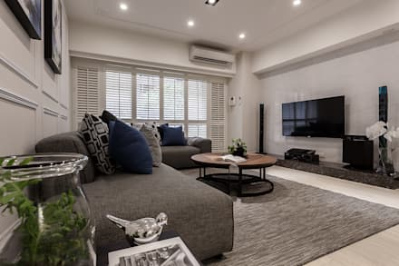 classic Living room by 祥祥設計有限公司