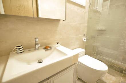 하늘과 맞닿은 집 : 꿈애하우징의  화장실