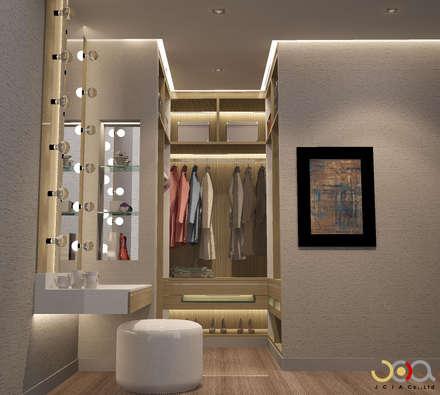 modern Dressing room by jcia co.,ltd