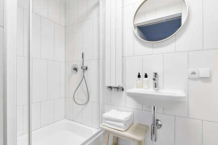 : scandinavian Bathroom by BLACKHAUS