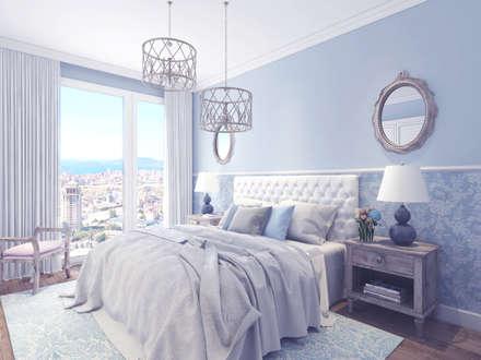 : country Bedroom by Ammar Bako design studio