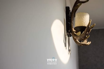 自然。隱逸 - 北歐風格:  牆壁與地板 by 有容藝室內裝修設計有限公司