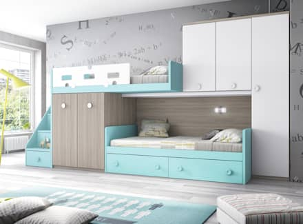 mediterranean Nursery/kid's room by CREA Y DECORA MUEBLES