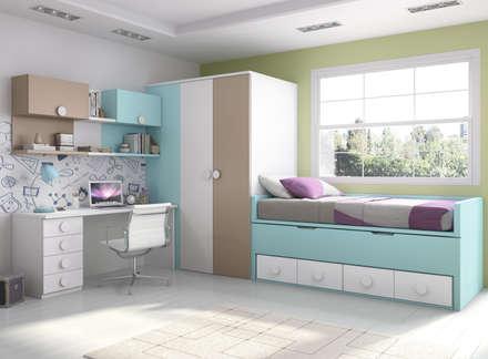 Dormitorios infantiles ideas dise os y decoraci n homify - Habitaciones infantiles azules ...