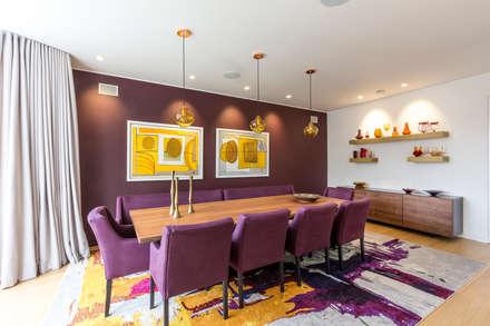 Dining room: modern Dining room by Studio Mark Ruthven