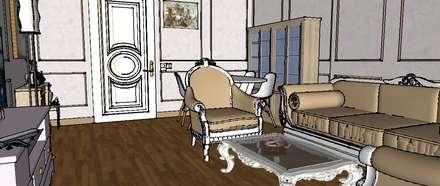 FOX IDEA - Moscow project: klasik tarz tarz Yemek Odası