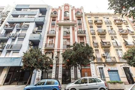 Reforma interior de vivienda piso: Ventanas de estilo  de Rimolo & Grosso, arquitectos