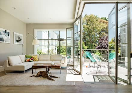 Noe Valley I: classic Living room by Feldman Architecture