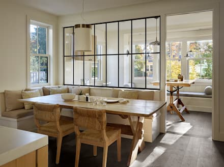 The Grange: classic Kitchen by Feldman Architecture