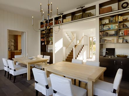 The Grange: classic Dining room by Feldman Architecture