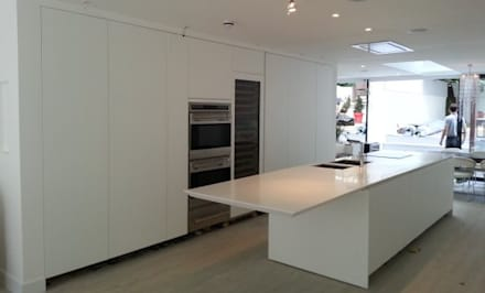 : modern Kitchen by Diamond Constructions Ltd