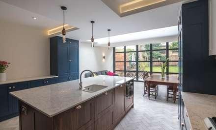3 Fenwick Grove: modern Kitchen by Diamond Constructions Ltd