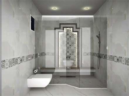 scandinavian Bathroom by Murat Aksel Architecture