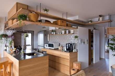 nionohama-apartment-house-renovation: ALTS DESIGN OFFICEが手掛けたキッチンです。