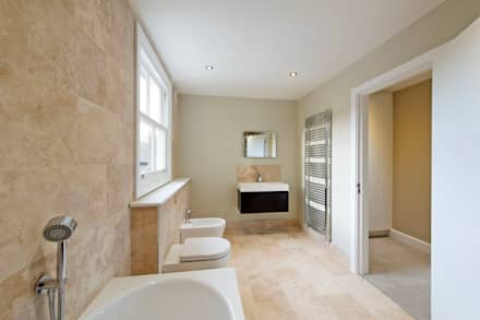 bellville road modern bathroom by orchestrate design and build ltd