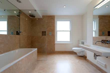 Fullerton Road: modern Bathroom by Orchestrate Design and Build Ltd.