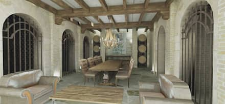 classic Wine cellar by Azcona Vega Arquitectos