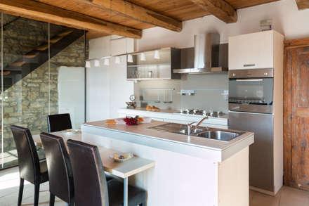 مطبخ تنفيذ Andrea Chiesa è Progetto Immagine