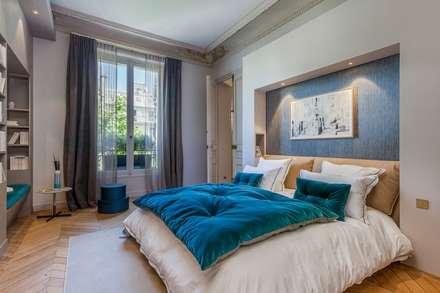 Um exemplo, no quarto das crianças.: Quartos de criança clássicos por D O M | Architecture interior