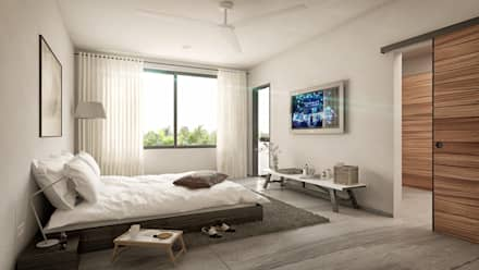 Phòng ngủ by Taller Veinte