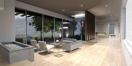 : Salas de estilo moderno por Gamma