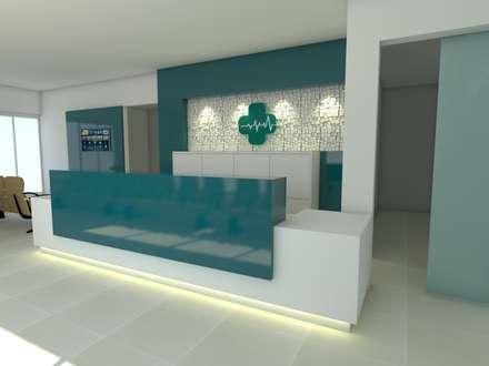 Klinik by Marcelle Langaro Arquitetura e Interiores