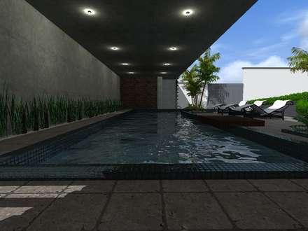 minimalistic Pool by HC Arquitecto