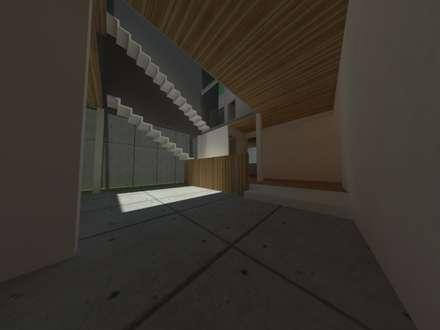 Casa Jara-Andrade, Iquique... Tramas, vacío y luz.: Comedores de estilo moderno por Toledo estudio Arquitectos