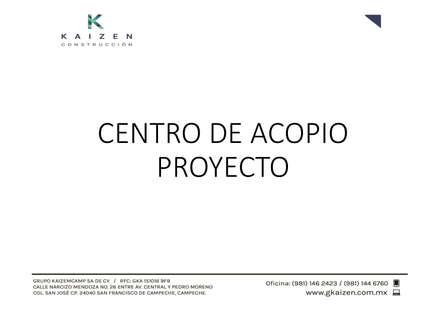 Centros de exhibiciones de estilo  por GRUPO KAIZEMCAMP SA DE CV