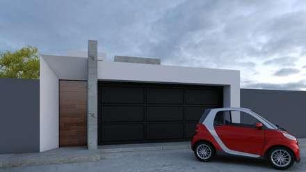 Puertas de garaje de estilo  de Architektur