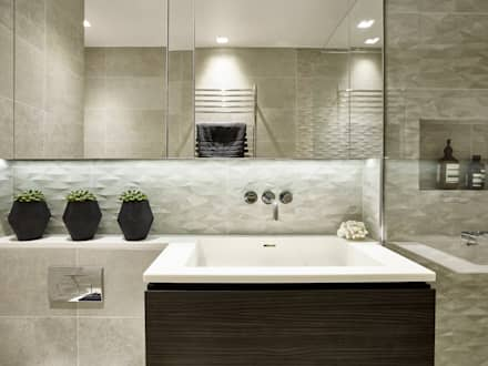 Small Bathroom: Modern Bathroom By Tailored Living Interiors