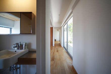 草津のコートハウス: 樋口章建築アトリエが手掛けたウォークインクローゼットです。
