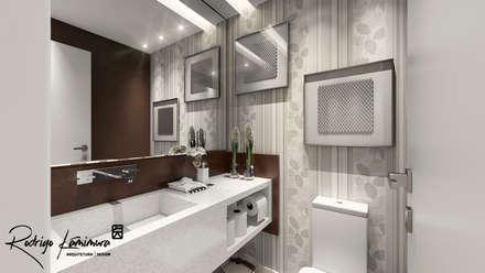 Lavabo: Banheiros modernos por Rodrigo Kamimura - Arquitetura e Design