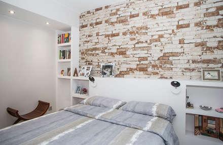 Dormitorio: Dormitorios de estilo moderno de Grupo Inventia