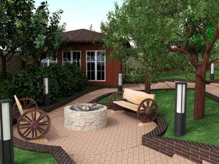 Ландшафт дом кунгей: Сады в . Автор – InsaitDesign