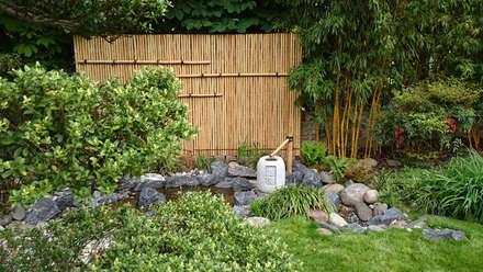 bassin: Jardin de style de style Asiatique par JARDIN JAPONAIS