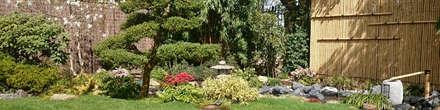 Jardin japonais bassin : Jardin de style de style Asiatique par JARDIN JAPONAIS