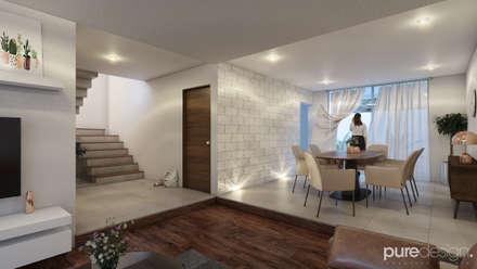 Sala: Salas de estilo minimalista por Pure Design