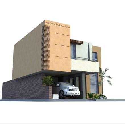 Vivienda remodelada: Casas de estilo moderno por D´Hestia