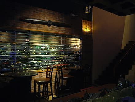 天津 DELIGHTS餐廳1樓:  酒吧&夜店 by 直譯空間設計有限公司