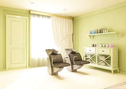 Салон-парикмахерская «Capelli»: Спа в . Автор – Дизайн-бюро Анны Шаркуновой 'East-West'